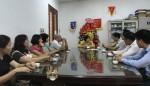 Thứ trưởng Phan Thị Mỹ Linh thăm và chúc mừng Báo Xây dựng nhân dịp kỷ niệm ngày Báo chí cách mạng Việt Nam 21/6