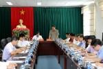 Đoàn công tác Bộ Xây dựng làm việc với UBND tỉnh Lai Châu