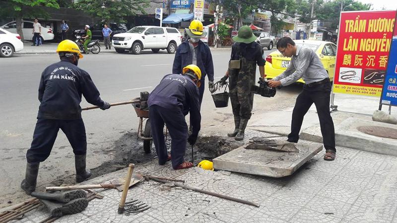 Đà Nẵng: Chuyển Cty Thoát nước và xử lý nước thải sang trực thuộc Sở Xây dựng