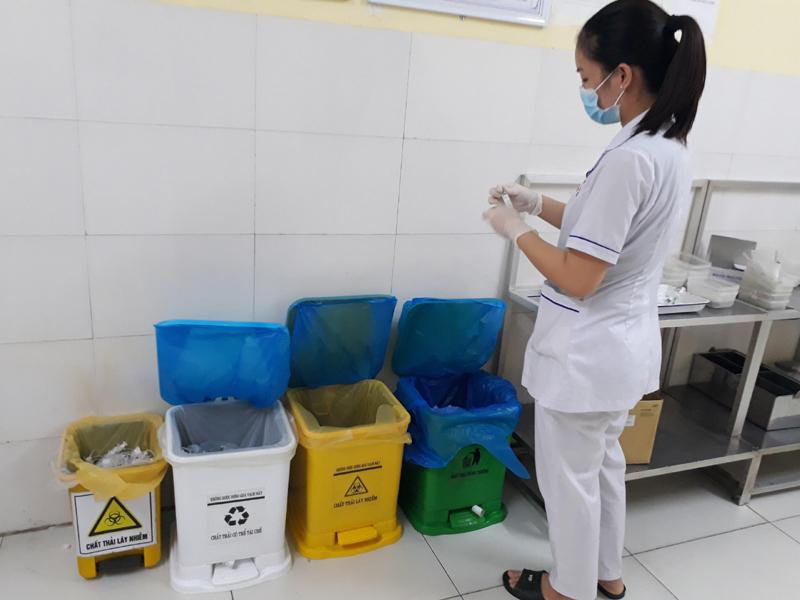 Phú Thọ: Bệnh viện Xây dựng Việt Trì chú trọng công tác quản lý chất thải y tế