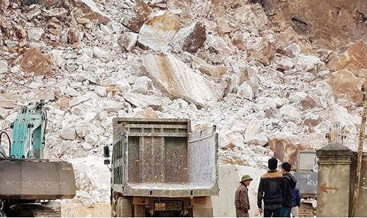 Nghệ An: Đóng cửa 9 mỏ đá xây dựng và 1 mỏ quặng sắt