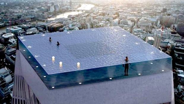 Hồ vô cực 360 độ đầu tiên trên thế giới sắp được xây dựng