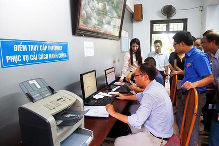 Tình hình thực hiện dịch vụ công trực tuyến lĩnh vực đất đai