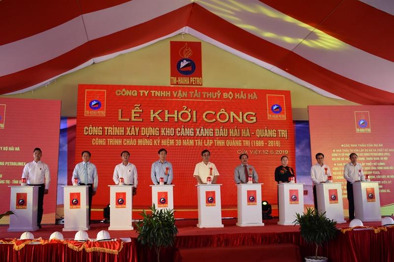 Quảng Trị: Khởi công dự án đầu tiên tại Khu kinh tế Đông Nam