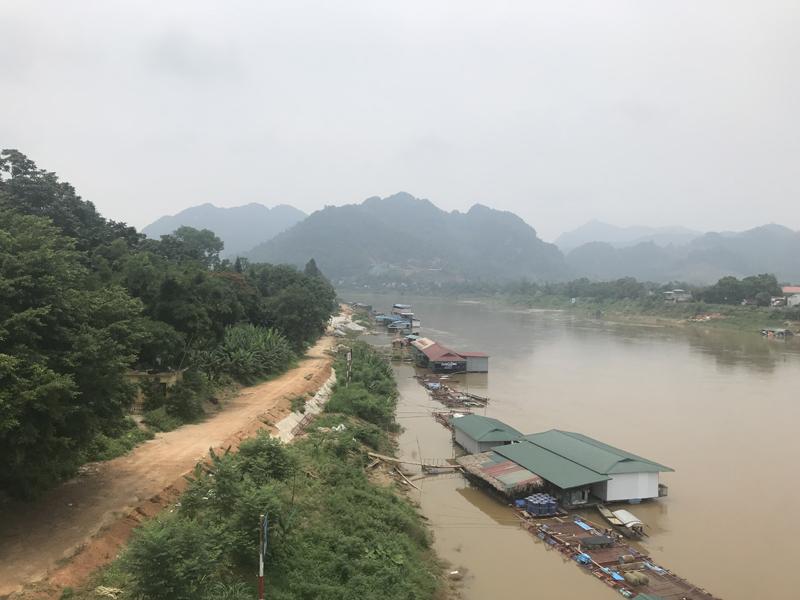 Tuyên Quang: Người dân mong sớm tiếp tục triển khai dự án đầu tư xây dựng 2 tuyến đường dọc sông Lô