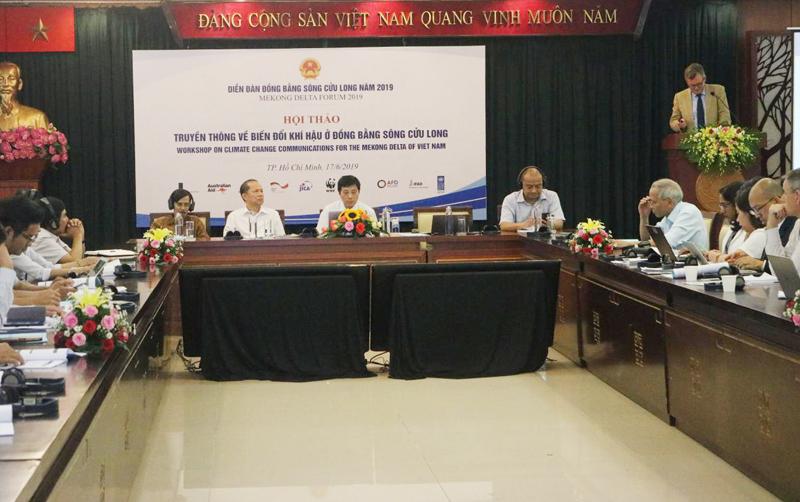 Vai trò của truyền thông với biến đổi khí hậu tại Đồng bằng sông Cửu Long