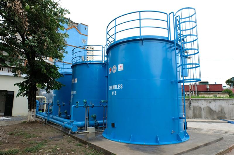 Hệ thống CHEMILES - Giải pháp làm sạch nước ngầm không hóa chất