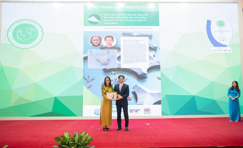 """Trao giải Cuộc thi khởi nghiệp sáng tạo """"Phụ nữ và tương lai của nền kinh tế xanh"""""""