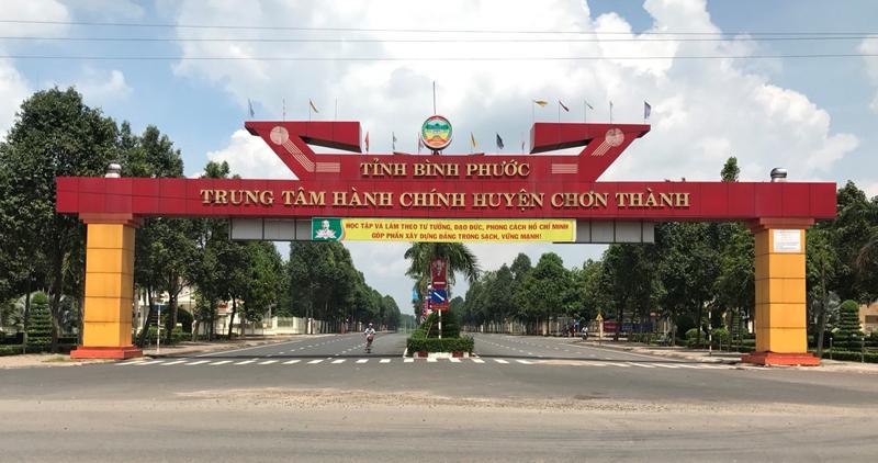 Lập quy hoạch, thẩm định và phê duyệt quy hoạch chung đô thị Chơn Thành, tỉnh Bình Phước