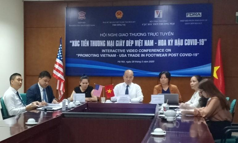 Xúc tiến thương mại giày dép Việt Nam – Hoa Kỳ hậu Covid-19