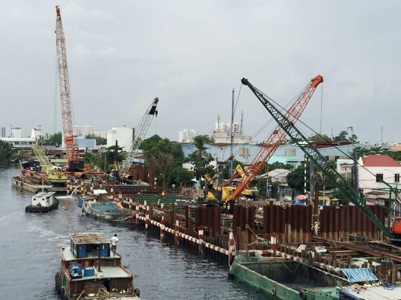 Thành phố Hồ Chí Minh: Phát hiện công trình cầu cảng của Công ty Xăng dầu Hàng không xây dựng không phép