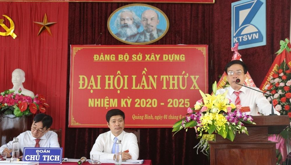 Đảng bộ Sở Xây dựng Quảng Bình tiếp tục đổi mới, nâng cao chất lượng quản lý đầu tư xây dựng