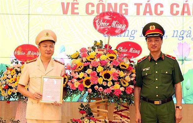 pho chanh van phong canh sat dieu tra lam giam doc cong an quang ninh