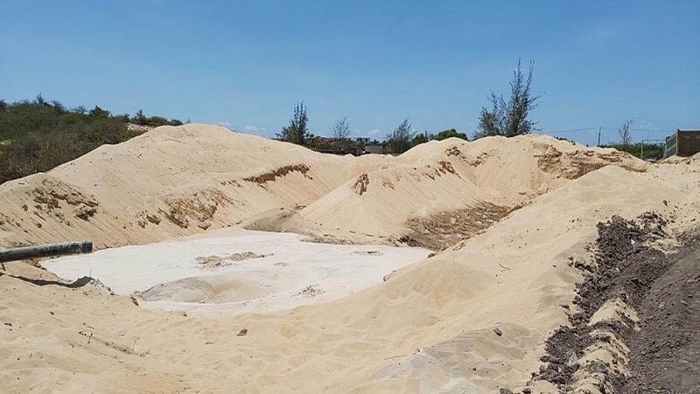 Bà Rịa – Vũng Tàu: Chính quyền xác định Free Land khai thác trái phép gần 4.500m3 cát