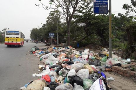 Quy định về điểm tập kết chất thải rắn sinh hoạt trong thành phố