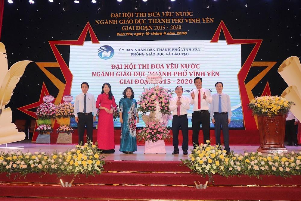 Ngành giáo dục thành phố Vĩnh Yên tiếp tục thi đua, phấn đấu