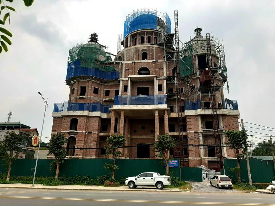 """Phú Thọ: Công trình trụ sở """"siêu khủng"""" của Công ty TNHH Hải Linh xây dựng trái phép"""