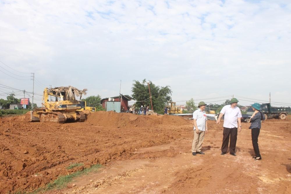 Vĩnh Phúc: Thu hồi và bàn giao đất thực hiện Dự án Chợ đầu mối nông sản