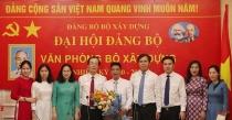 Văn phòng Bộ Xây dựng tổ chức thành công Đại hội Đảng nhiệm kỳ 2020 – 2025