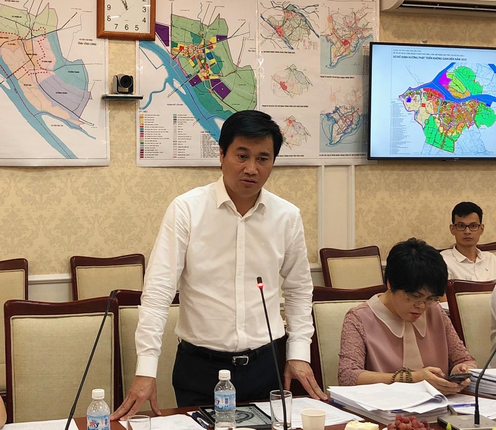 Hội nghị Thẩm định đề án đề nghị công nhận thị xã Bình Minh (tỉnh Vĩnh Long) là đô thị loại III