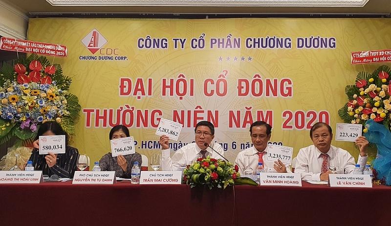 dai hoi dong co dong cdc chi tra co tuc nam 2019 bang 70