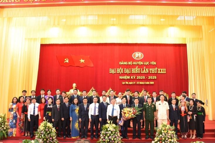 Yên Bái: Đại hội đại biểu Đảng bộ huyện Lục Yên lần thứ XXII thành công tốt đẹp