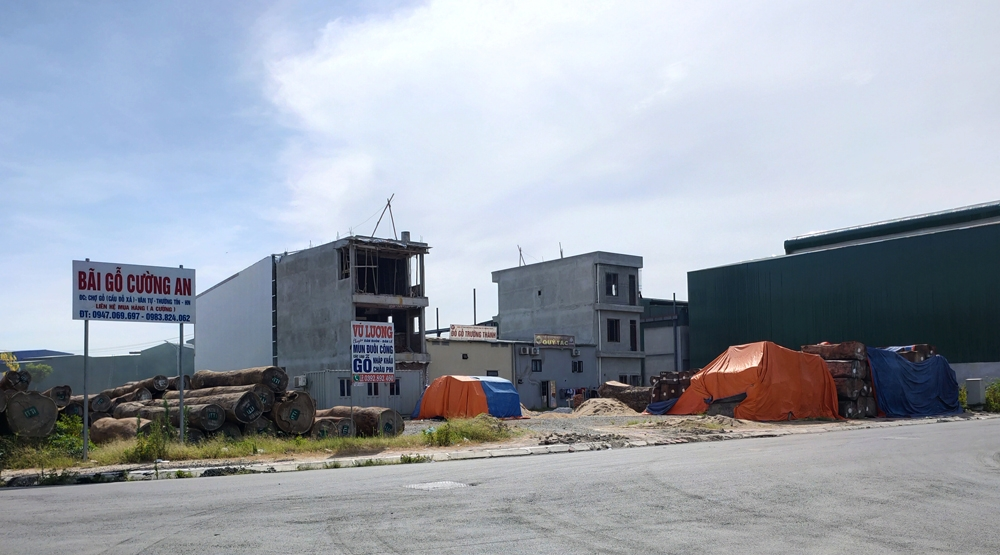 Thường Tín (Hà Nội): Tràn lan nhà ở kiên cố tại Cụm công nghiệp làng nghề xã Văn Tự