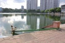 Hà Nội: Dự án trăm tỉ hồ Đầm Hồng xuống cấp nghiêm trọng