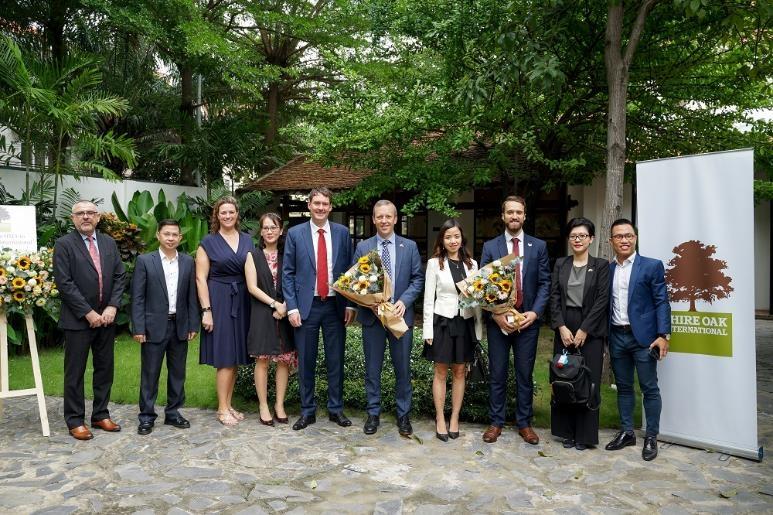 Đại sứ Anh tại Việt Nam gặp gỡ nhà phát triển năng lượng mặt trời sở hữu tổng giá trị đầu tư lên đến 1,9 tỷ USD
