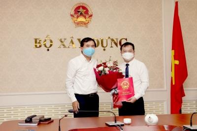 Bộ Xây dựng bổ nhiệm Phó Cục trưởng Cục Phát triển đô thị