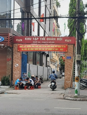 Hồng Bàng (Hải Phòng): Kiểm tra, xử lý việc cấp phép xây dựng trên đất quốc phòng