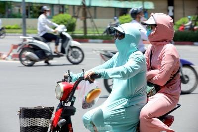 Chênh lệch nhiệt độ giữa đường 'xanh mát' và phố vắng bóng cây tại Hà Nội