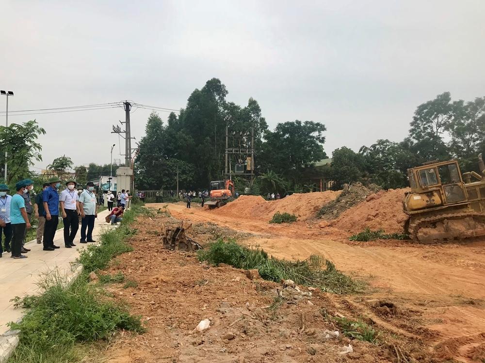 Vĩnh Yên (Vĩnh Phúc): Cưỡng chế thu hồi đất tại phường Tích Sơn để phục vụ dự án