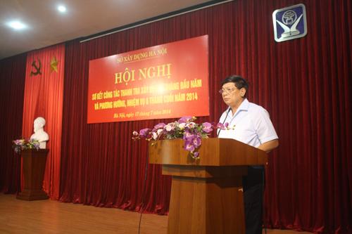 Hà Nội: Tiếp tục kiện toàn và duy trì ổn định lực lượng Thanh tra xây dựng