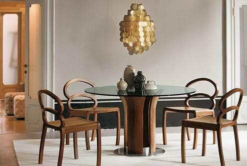 Những bộ bàn ăn điêu khắc hiện đại và ấn tượng