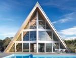 Đón ánh sáng tự nhiên với ngôi nhà mang cấu trúc A-frame