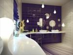Những mẫu thiết kế hiện đại cho phòng tắm nhỏ