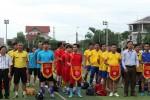 Ngành xây dựng Hà Tĩnh khai mạc giải bóng đá chào mừng các sự kiện lớn