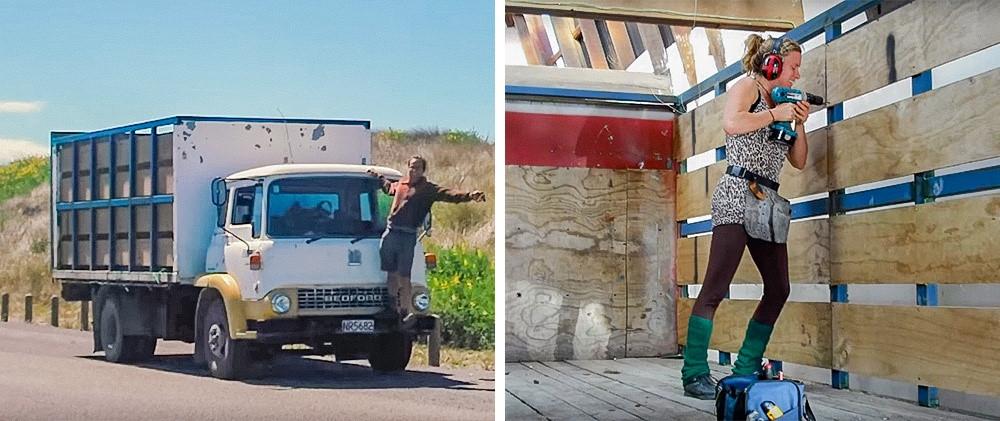141212baoxaydung image002 Thiết kế biến xe tải cũ thành ngôi nhà di động