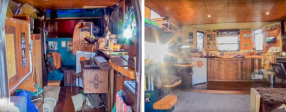 141222baoxaydung image004 Thiết kế biến xe tải cũ thành ngôi nhà di động