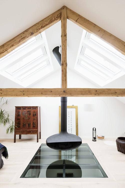 141751baoxaydung image004 Tham quan căn hộ gác mái vừa mộc mạc vừa hiện đại ở Luxembourg