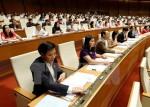 Quốc hội phê chuẩn quyết toán ngân sách nhà nước năm 2014