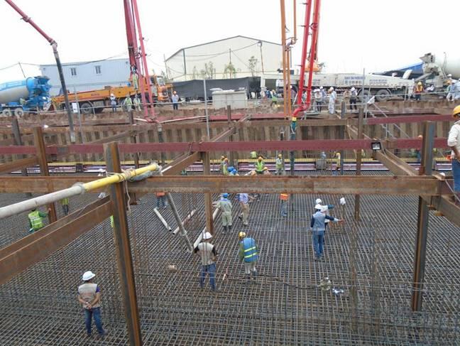 Quy định về nghiệm thu khối lượng công tác sản xuất và lắp dựng cốt thép