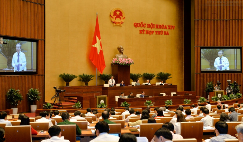 Công bố 8 Nghị quyết của Quốc hội
