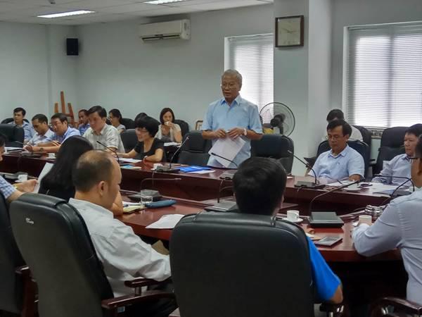 Viện Kinh tế xây dựng sơ kết công tác 6 tháng đầu năm và chương trình công tác 6 tháng cuối năm 2017