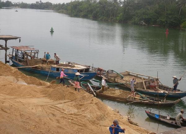 Giải pháp nào để sử dụng hợp lý tài nguyên cát sỏi