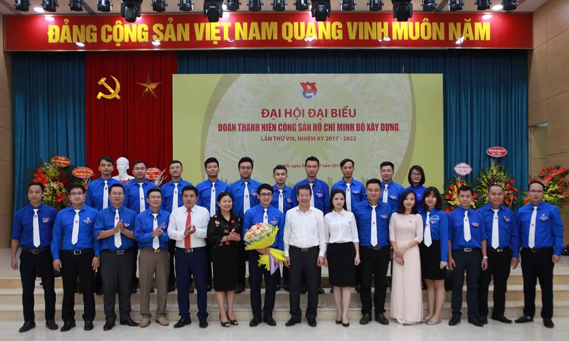 Đại hội đại biểu Đoàn TNCS Hồ Chí Minh Bộ Xây dựng khóa VIII thành công tốt đẹp