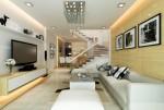 Cách thiết kế, bố trí phòng khách có cầu thang