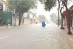 Hà Tĩnh: Mưa lớn, phố thành... sông