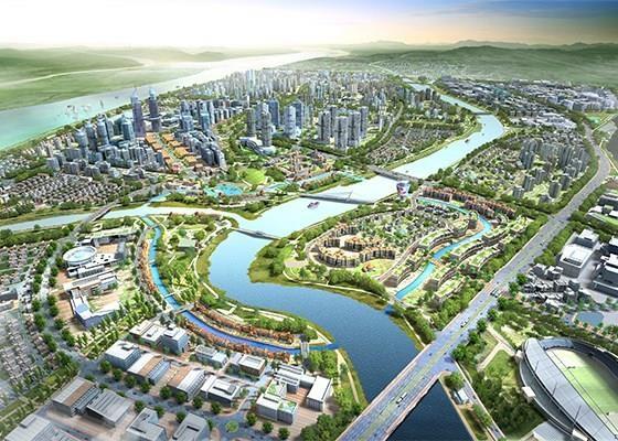 Hàn Quốc đầu tư 425 triệu USD xây thành phố thông minh ở nước ngoài